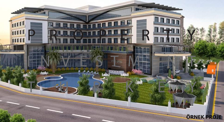 Land for Tourism Hotel, Antalya
